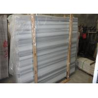 White And Grey Marble Stone Slab Marble Wall Panels For Showers Huge Size