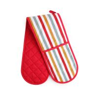 Professional Cotton Heat Resistant Oven Mitts 17.5 * 80cm For Household