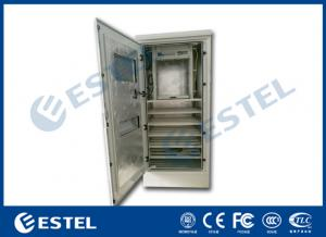 China Aluzinc Coated Steel  Outdoor Electrical Enclosure Single Wall With Insulation on sale