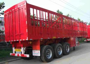 China SINOTRUK Tractor Trailer Truck 3 Axles 40 Ton 50 To 60 Ton Warehouse Gate Semi Trailer on sale