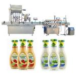 4 / 6 Heads Automatic Jam Filling Machine SS304 / 316 Material For Pharmaceuticals