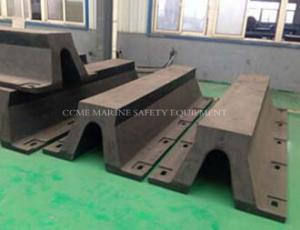 China High Quality V Type Marine Rubber Fender Marine Arch Fender on sale