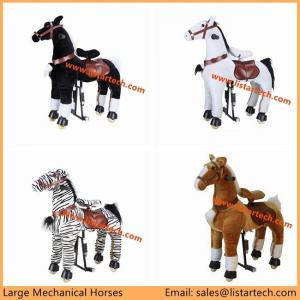China Adult Mechanical Horses is Not a Rocking Horse, it's a moving pony, ride on it and run! on sale
