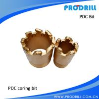 PDC coring bit for geological exploration