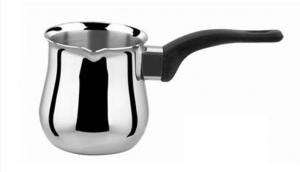 China stainless steel coffee warmer/milk warmer pot with plastic handle on sale