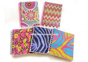 China A5 hard cover Spiral Notebook cartoon notebook Custom notebook on sale