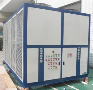 China R404A Refrigerant Low Temperature Screw Brine / Glycol Chiller With -32c Outlet For Ice Cream RO-72AL on sale