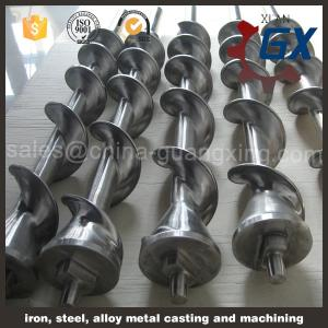 China 38CrMoAlA blow molding machine screw and barrel on sale