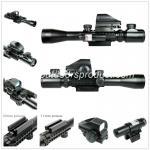3-9X40EG.点の視力及び赤いレーザーとの探求Riflescope