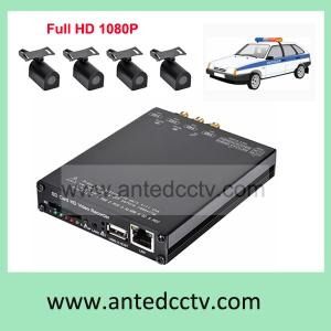 China Car Truck DVR WIFI HD 1080P 4 channel CCTV video surveillance system for vehicle on sale