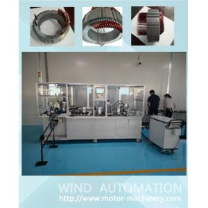 China Aircraft areo flat wire hairpin forming shape the generator conductor wire bending machine WIND-AWF on sale