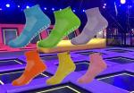 Lejump indoor trampoline park grip socks , skyzone jumping socks , oxygen free jumping bounce socks