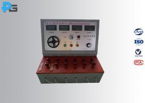 China Plug Pin Temperature Rise Test Equipment 40 A Adjustable Digital Display on sale