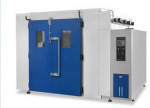 China Double Door Environmental Test Chamber High Strength Fast +20 ºC To +80 ºC Within 60min on sale