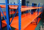 Utility Light Duty Racking For Storage Corrosion Protection Steel Material