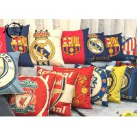Real Madrid  Barcelona Decorative Cushions Pillows , Multiple Soccer Teams Bed Pillows