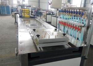 China WPC Board Construction Template Production Line / Extruder / Plastic Machine on sale