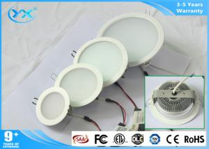 China AC 90 - 260V 5w 18w Hotel Recessed LED Downlight With Sanan 2835 LED Chip on sale