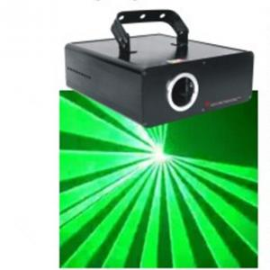 China Animation Single Green Mini Laser Stage Lighting With 25kpps Vibratory Mirror on sale