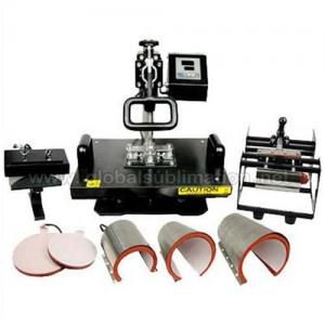 China Combo Heat Press Machine(8 in 1) Of Heat Transfer Printing on sale