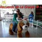 China Hansel CE certificate electric kids motorized plush riding animals plush motorized animals wholesale