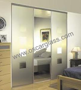 China sliding glass door, interior door glass, wardrobe glass on sale