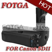 Fotga Vertical Battery Grip Replacement for Canon EOS 5D Mark II 5D II BG-E6