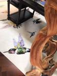 Customized design rugs for villa