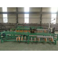 3m width full automatic single wire/double wire feeding chain link fence machine