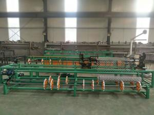 China 3m width full automatic single wire/double wire feeding chain link fence machine on sale