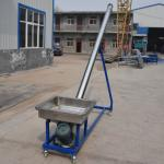 Siliver color 1.5KW carbon steel agriculture screw conveyor for grain