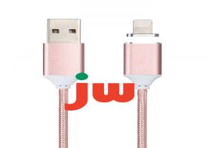 China Micro USB Braided Magnetic Charging Cable on sale