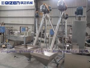 Carbon Steel Inclining Flexible Screw Conveyor For Grain