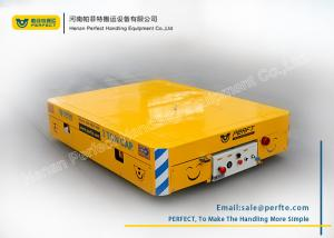 China Aluminum Rolling Car Electric Industrial Transfer Trolley in Assembly PLC Control on sale