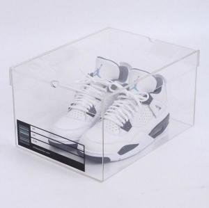 China High quality Acrylic Shoe box, 3mm Acrylic Shoe Drawer Box on sale