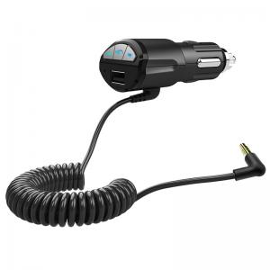China A2DP 3.5mm Car Handsfree Bluetooth AUX Stereo Audio Receiver Adapter USB Charger on sale