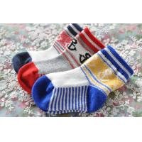 Colorful jacquard design cotton socks for baby