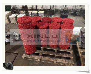 China PVC Coated Double wire ties / PVC Double wire Bar tie wires on sale