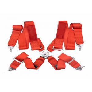 China Washable Car Safety Seat Belts Never Shrink / Distortion With 3 Inch Width on sale
