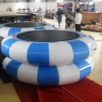 Green And Yellow Inflatable Jumpers /Inflatable TrampolineFor Children Or Adults