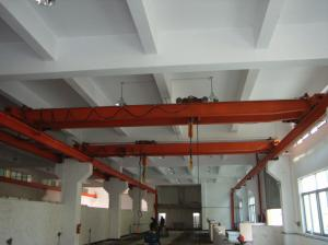 China 16 ton double girder overhead crane price on sale