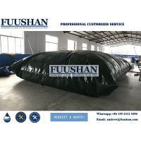 Fuushan 80000 Liter Plastic PVC Water Storage Bladder Tank /PVC Pillow Water Tank