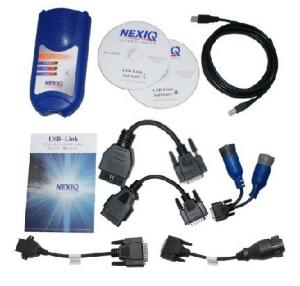 China Heavy Duty Truck Diagnostic Scanner NEXIQ 125032 USB Link Software Diesel on sale