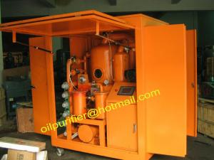 China Purificador de aceite móvil del transformador, planta del aceite del aislamiento, filtro 110KV más o menos renovable on sale