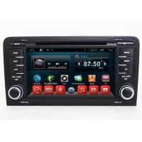 2 Din Central Entertainment System Android Car Navigation Audi A3 S3 RS3 With Bluetooth