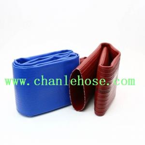 China High pressure PVC layflat hose for drip irrigation hose pipe, pvc lay flat discharge hose on sale