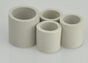 China Alumina Ceramic Raschig Ring 0.5mm-30mm Thickness For Cooling Towers on sale