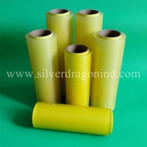 China PVC CLING FILM FOR FRUIT WRAPPING 10microns x 300mm x 1000m on sale