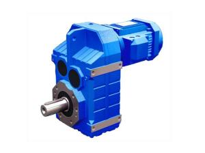 China Parallel Shaft Helical Motor Gear Reducer Normal Pressure With One Year Warranty on sale