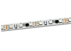 China 12V DC Dream Colour LED Strip With Remote WS2811 IC 5000 * 10 * 2.3mm 60 LEDS on sale